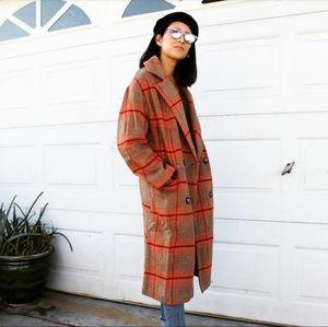 🆕️//Pumpkin Patch Collection// Plaid Coat